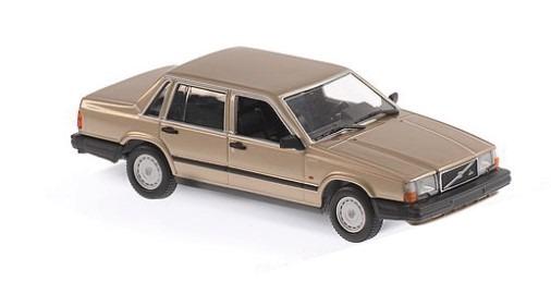 MINICHAMPS 1/43 ボルボ 740 GL 1986 ゴールドメタリック ※MAXICHAMPSシリーズ