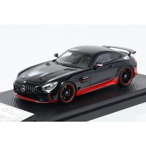 【ALMOST REAL】 1/43 メルセデス AMG GT R (ブラック/レッド)