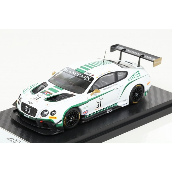 【ALMOST REAL】 1/43  Bentley GT3 Blancpan Endurance series(Nurburgring /No.31)  ※限定504台