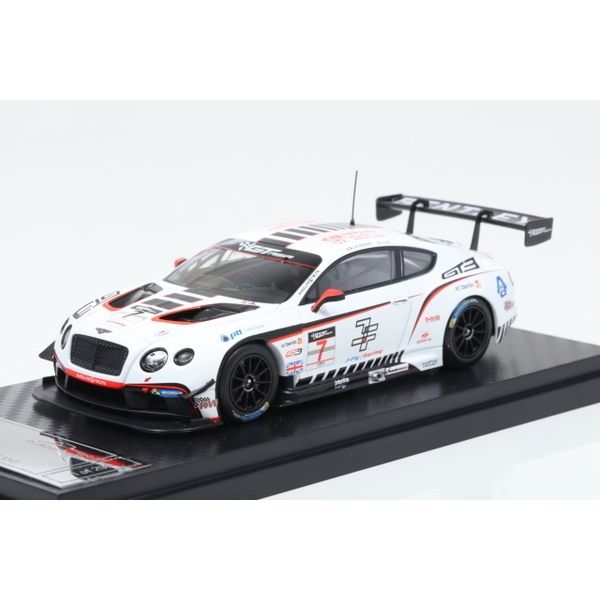 【ALMOST REAL】 1/43 Bentley GT3 Bentley Team Absolute in GT3 Asia 2015 No.7  ※限定299台