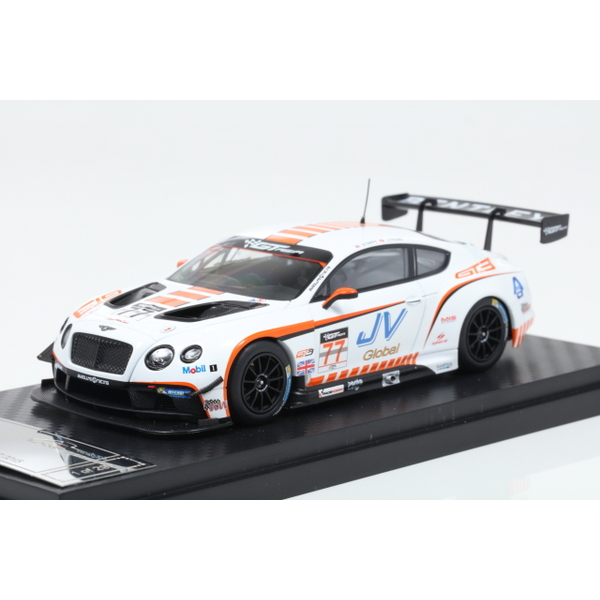 【ALMOST REAL】 1/43 Bentley GT3 Bentley Team Absolute in GT3 Asia 2015 No.77  ※限定299台