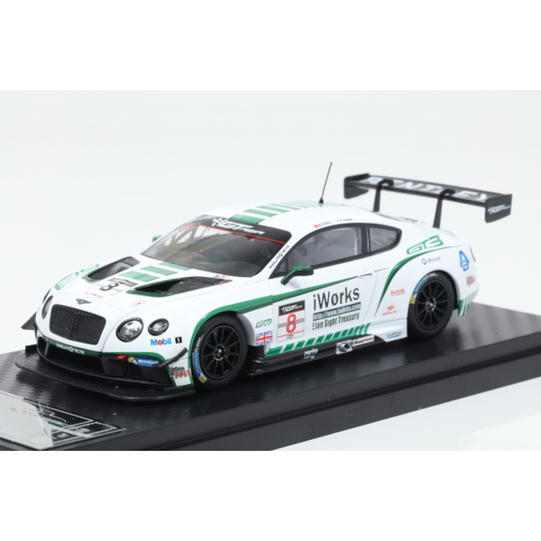 【ALMOST REAL】 1/43 Bentley GT3 Bentley Team Absolute in GT3 Asia 2015 No.8  ※限定299台