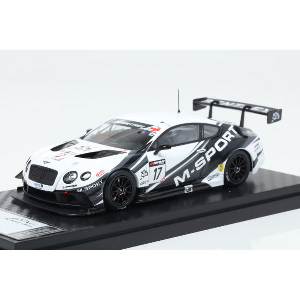 【ALMOST REAL】 1/43 M Sport Bentley GT3 British GT 2014 SilverStone No.17  ※限定300台