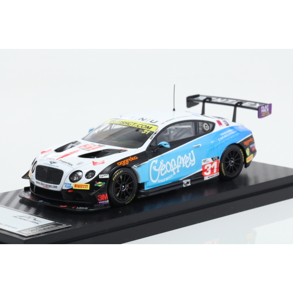 【ALMOST REAL】 1/43 Bentley GT3 Team Parker Racing British GT Championship 2016 No.31  ※限定300台