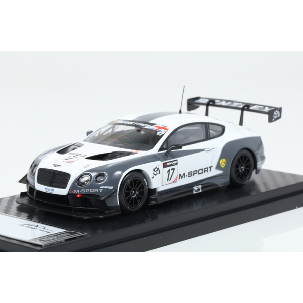 【ALMOST REAL】 1/43 M Sport Bentley GT3 British GT 2014 Oulton Park No.17  ※限定100台