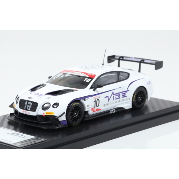 【ALMOST REAL】 1/43 Bentley Continental GT3 Jordan Witt Racing GT CUP Series Champion 2016 No.10  ※限定300台
