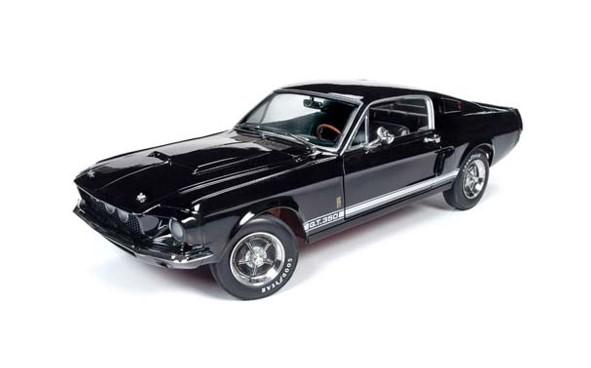 <予約> [AmericanMuscle] 1/18 1967 シェルビー マスタング GT-350 (MCACN)ブラック
