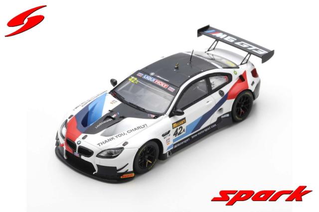 【spark】 1/43 BMW M6 GT3 NO.42 BMW TEAM SCHNITZER BATHURST 12H 2019 A. FARFUS - C. MOSTERT - M. TOMCZYK LIMITED 500