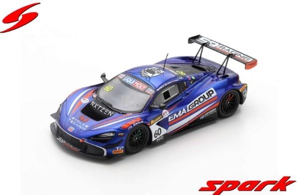Spark 1/43 McLaren 720S GT3 No.60 59Racing/EMA Racing 2nd Bathurst 12H 2020 Limited 500