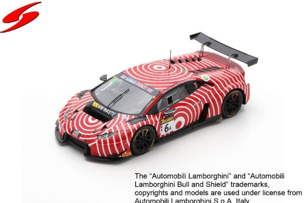 Spark 1/43 Lamborghini Huracan GT3 No.6 Wall Racing Bathurst 12H 2019 Limited 600