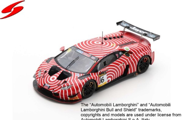 Spark 1/43 Lamborghini Huracan GT3 No.6 Wall Racing Bathurst 12H 2020 Limited 300