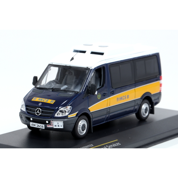 【TINY】 1/43 Mercedes Benz Sprinter Hong Kong Correctional Services