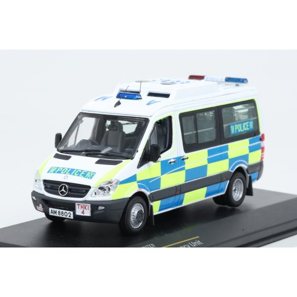 【TINY】 1/43 MercedesBenz Sprinter Hong Kong Police Emergency Unit.