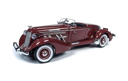 <予約> [AmericanMuscle] 1/18 1935 Auburn スピードスター (プラムバーガンディ)