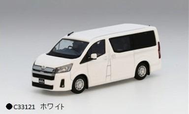 MODEL1 1/64 トヨタハイエース300 (海外仕様) ホワイト