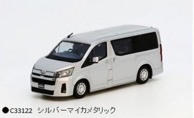 MODEL1 1/64 トヨタハイエース300 (海外仕様) シルバーマイカメタリック