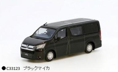 MODEL1 1/64 トヨタハイエース300 (海外仕様) ブラックマイカ