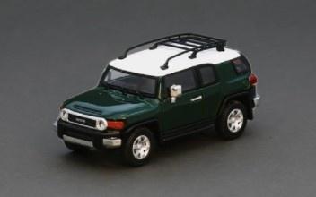 Model1 1/64 トヨタ クルーザー TOYOTA FJ CRUISER XJ10 (LHD) アーミーグリーン