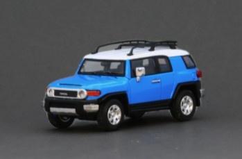 Model1 1/64 トヨタ クルーザー TOYOTA FJ CRUISER XJ10 (LHD) ブードゥーブルー