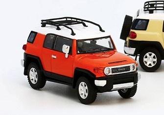 Model1 1/64 トヨタ クルーザー TOYOTA FJ CRUISER XJ10 (LHD) マグマ オレンジ