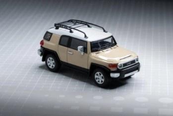 Model1 1/64 トヨタ クルーザー TOYOTA FJ CRUISER XJ10 (LHD) クイックサンド