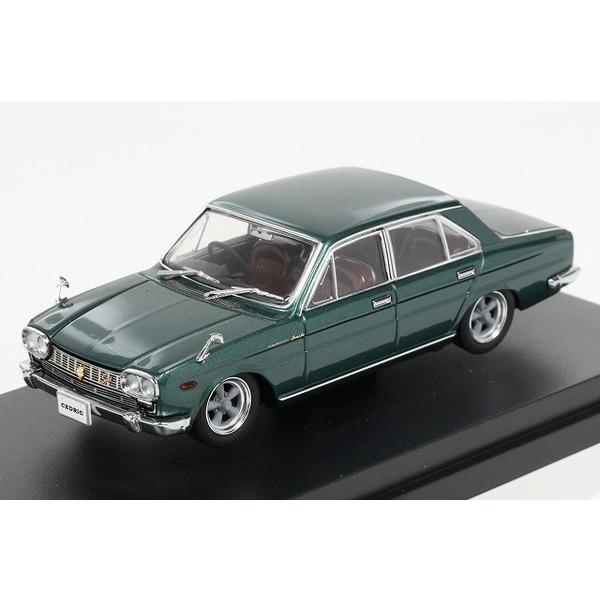 【CAM@】 1/43 日産 セドリック カスタム(130型)1965年  5本スポークホイール グリーンメタリック