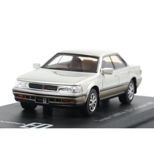 【CAM@】 1/43 トヨタ カリーナ ED Gリミテッド 1985 (シティエレガンストーニング)