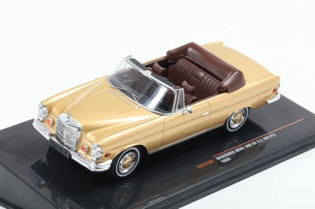 ixo 1/43 Mercedes Benz 280SE 3.5 W111 1969