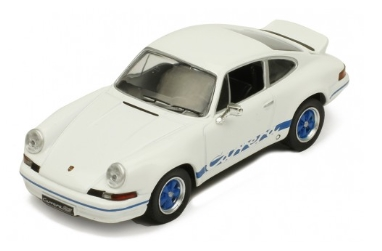 ixo 1/43 Porsche 911 Carrera RS 2.7 1973 White/Blue line