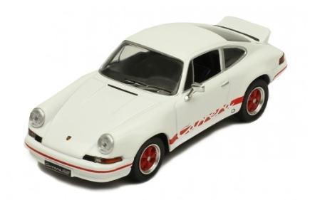 ixo 1/43 Porsche 911 Carrera RS 2.7 1973 White/Red line