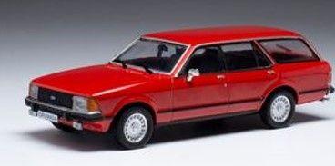 <予約 2021/11月発売予定> ixo 1/43 フォード グラナダ MK II Turnier 1.8i GL 1978 レッド