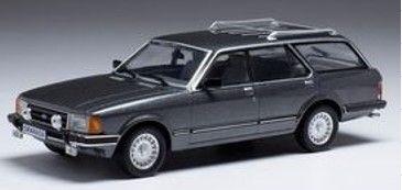 <予約 2021/11月発売予定> ixo 1/43 フォード グラナダ MK II Turnier 1.8i Ghia 1982 メタリックグレー