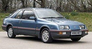 <予約 2021/11月発売予定> ixo 1/43 フォード シエラ XR4 1984 メタリックブルー