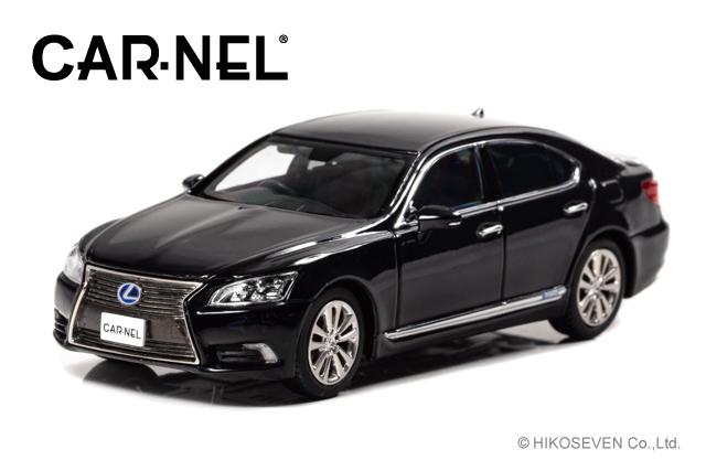 CARNEL 1/43 レクサス LS600h VersionL (UVF45) 2014 Black *限定300台