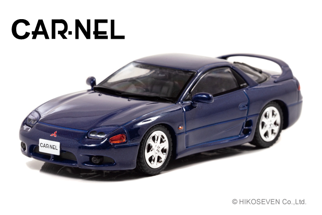 CARNEL 1/43 三菱 GTO Twin Turbo (Z16A) 1996 Mariana Blue Pearl *限定300台
