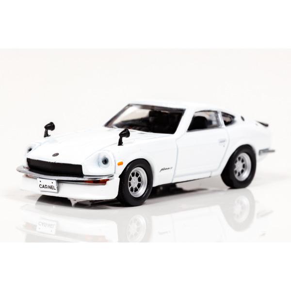 【CARNEL】 1/64 日産 フェアレディ Z S30 カスタムヴァージョン (ホワイト)
