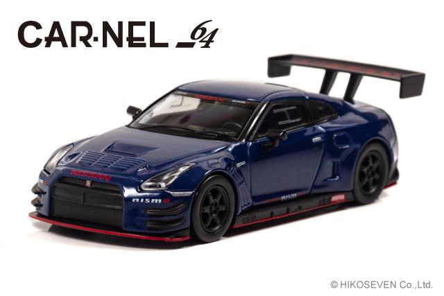 [CARNEL] 1/64 Nissan GT-R NISMO GT3 (R35) 2015 Blue Metallic 限定999台