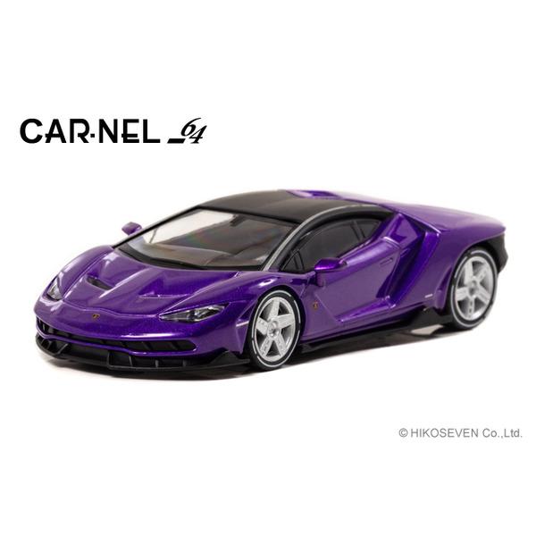 【CARNEL】 1/64 Lamborghini Centenario (Violet) 限定999台