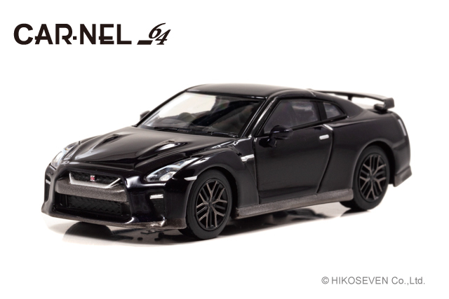 "CARNEL 1/64 日産 GT-R ""Limited of 50 units Special Edition"" (R35) 2019 Midnight Opal *限定777台"