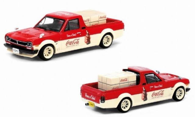 INNO 1/64 Nissan サニートラック HAKOTORA  Coca-Cola (香港限定) TINY特注