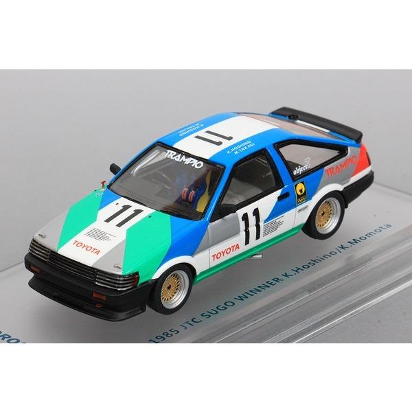 【ENIF】 1/43 トヨタ カローラ レビン 1985 全日本ツーリングカー選手権 第1戦 SUGO 優勝 TRAMPIO