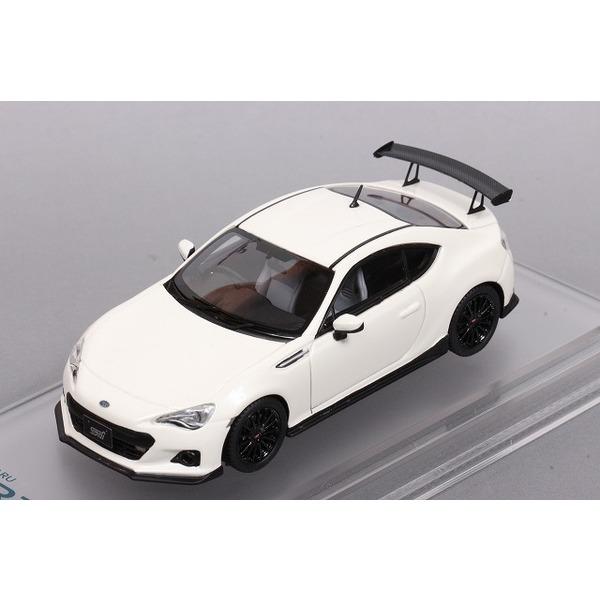 【ENIF】 1/43 スバル BRZ tS GT パッケージ (サテンホワイトパール)