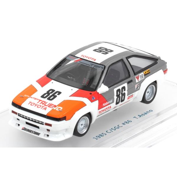 【ENIF】 1/43 トヨタ スプリンタートレノ N2 1985 カローラ/スプリンターグランドカップ No.86