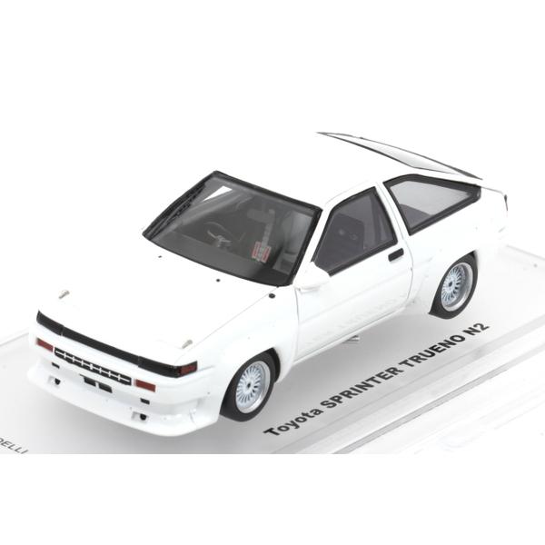 【ENIF】 1/43 トヨタ スプリンタートレノ N2 仕様 プロストック (ホワイト) *Automodelli Lambda特注