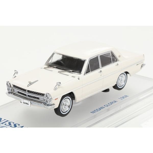 【ENIF】 1/43 日産 グロリア (PA30) スーパーDX 1968 グロリアホワイト