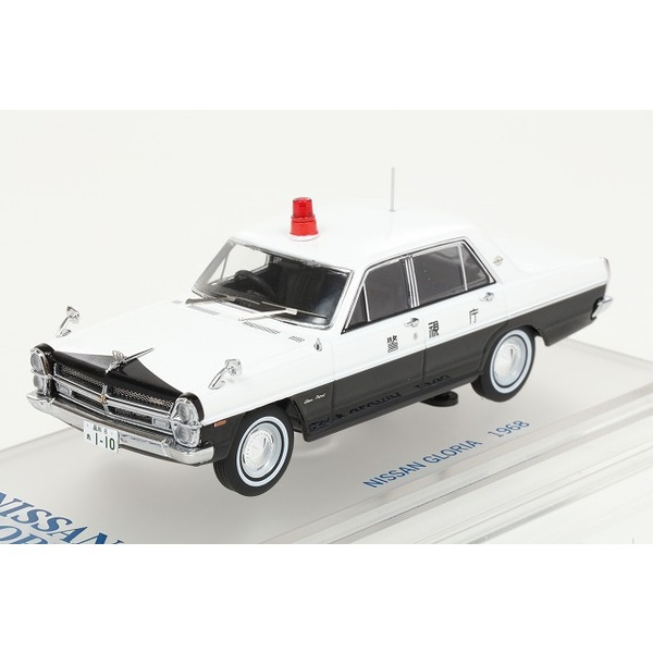 【ENIF】 1/43 日産 グロリア (PA30) パトロールカー 1968 警視庁