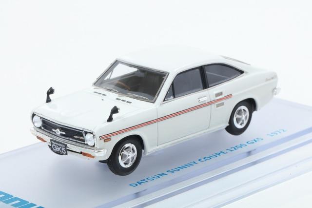 ENIF 1/43 日産 サニー 1200 GX5 クーペ 1972年型 ホワイト