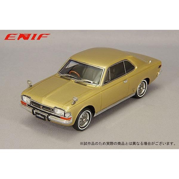 ENIF 1/43 トヨペット クラウン 2ドア ハードトップ SL 1968年型 シャンティゴールドメタリック