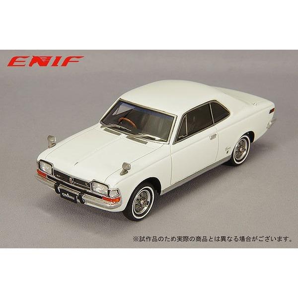 ENIF 1/43 トヨペット クラウン 2ドア ハードトップ SL 1968年型 シュノンソンホワイト