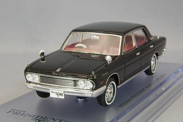<予約 2020/12月中旬発売予定> ENIF 1/43 日産 プレジデント (H150 Y40-D) 1965年型 ブラック